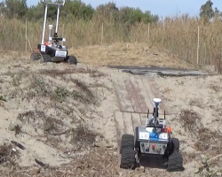 2 robots Eurathlon